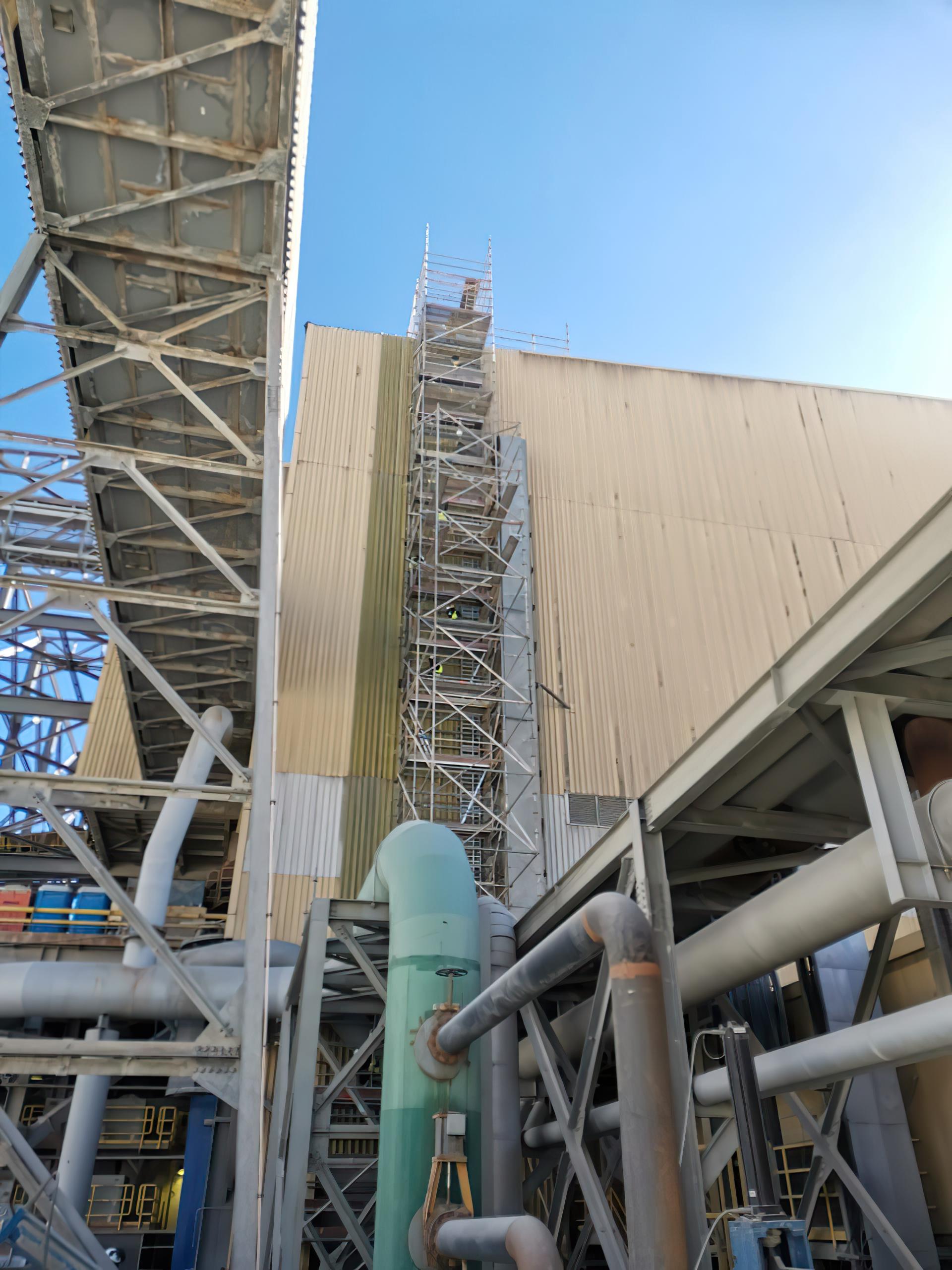 Montaje Eléctrico-Instrumentación Extractores de Techo Adicionales Planta Concentradora.